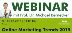 Webinar: Online Marketing Trends 2015