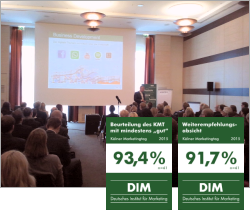 Der Kölner Marketingtag 2015 erhält Bestnoten!