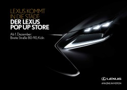Lexus Pop Up Store